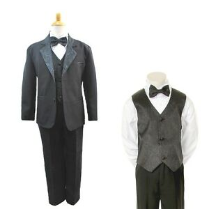 Find great deals on eBay for boys black suit size 8. Shop with confidence.