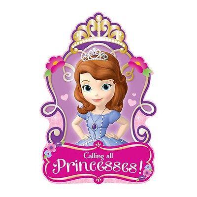 Sofia The First Invitations (8 Sofia The First Princess Birthday Party Invitations Invite Plus)