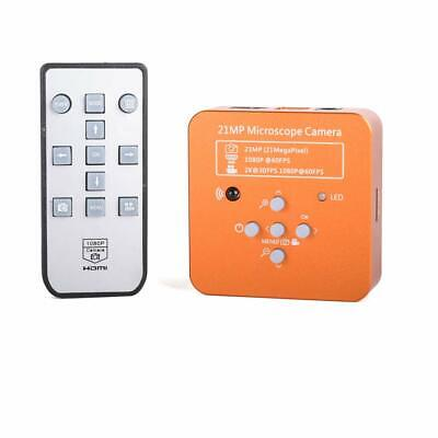 21mp Tv Hdmi Usb Industry Digital C-mount Microscope Camera Tf Video Recoder