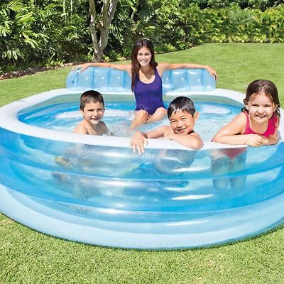 Swim Center Family Lounge Pool 224 x 216 x 76 cm