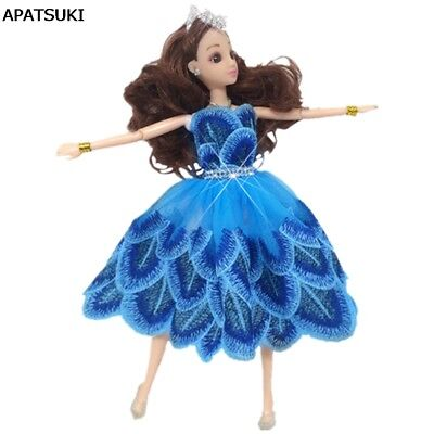 Cute Dancing Costume Peacock Feather Dress For 11.5
