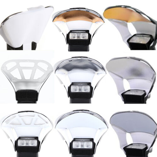 US Flash Diffuser Softbox Reflector for Canon Yongnuo Speedlight 3 Color