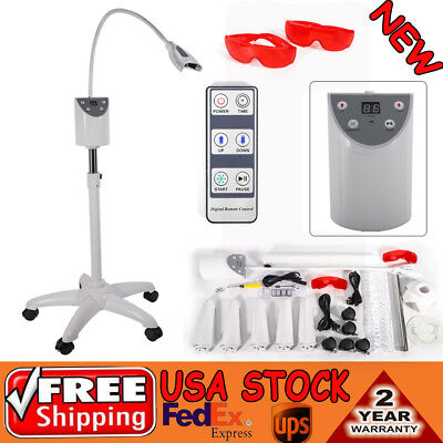 Dental Mobile Teeth Whitening Machine Lamp Tooth Bleaching LED Light Accelerator