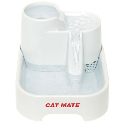 Drinking Levels Cool Water Pet Fountain Cats Dogs Bowl Filter Dispenser 70 (Cool Water Dispenser)