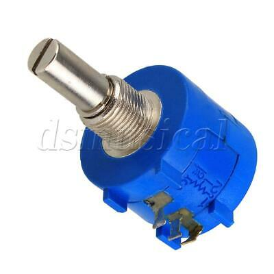 2pcs 3590s-2-101l Blue Precision Adjustable Potentiometer 100 Ohms