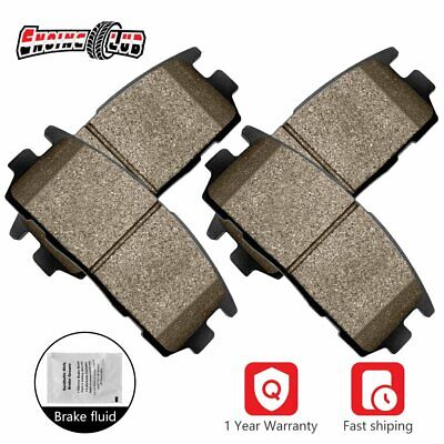 Front Disc Ceramic Brake Pads D1422 For 2010-2016 Cadillac SRX 2011 Saab 9-4X