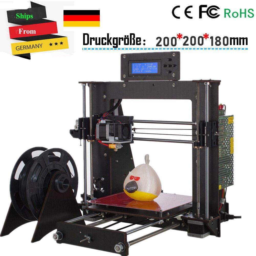 CTC A8 3D Printer DIY i3 Upgradest High Precision Reprap Prusa 3d Drucker DHL