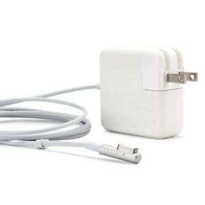 NEW APPLE MACBOOK COMPUTER AIR AC ADAPTER MAGSAFE L TIP 45W 60W 85W