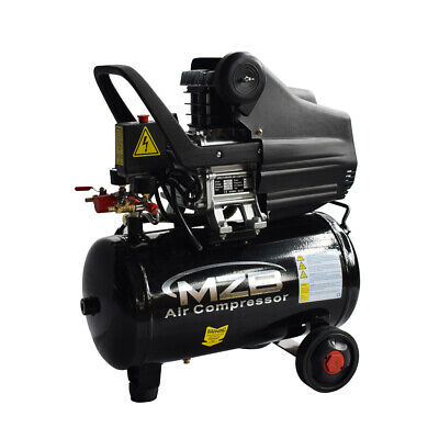 Horizontal Portable Air Compressor 116 Psi 2 Hp 7 Cfm Tank 6 Gallon