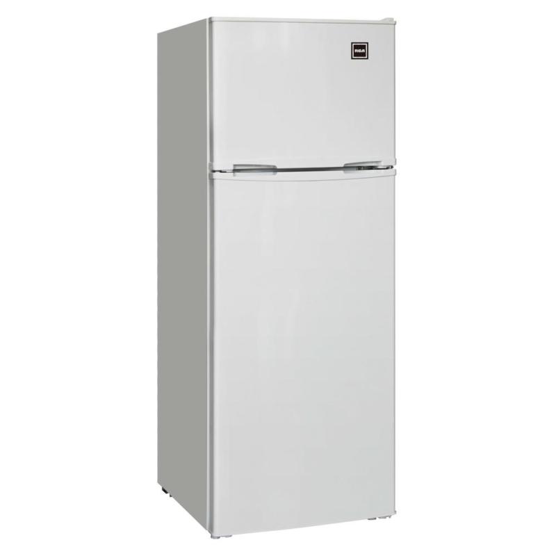 7.5 Cu Ft Top Freezer Compact Refrigerator Temperature Contr