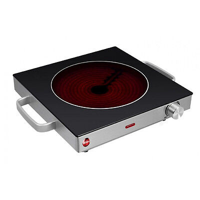 ELDOM Ph30 piano di cottura in vetro ceramica infrarossi piastra Campeggio Ceran