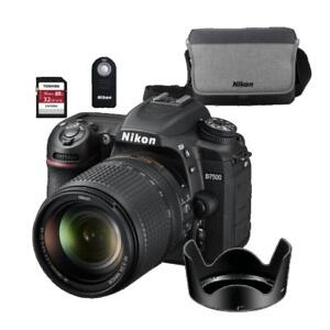 NEW--D7500 kit 18-140 VR +BUNDLE SPECIAL (WITH FULL NIKON WARRANTY)