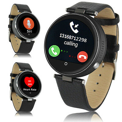 Chic Bluetooth SmartWatch For iPhone 6s plus SIRI 3.0 Centre Rate Pulse Sensor