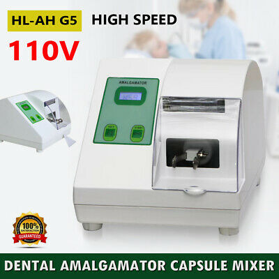 Dental Lab High-speed Amalgamator Amalgam Capsule Mixer Digital Capsules Blender