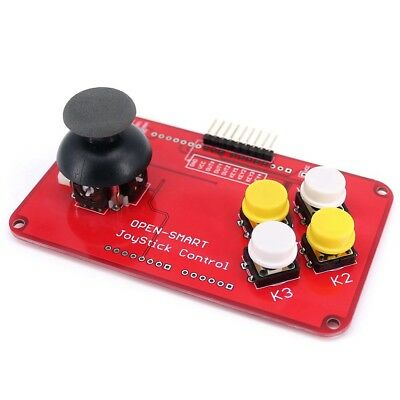 Ps2 Joystick Keypad Shield Game Controller Breakout Module For Arduino Nano Ma