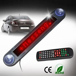 Auto Laufschrift Ticker Anzeigetafel Rot LED Lauftext Shop Werbe Display Board