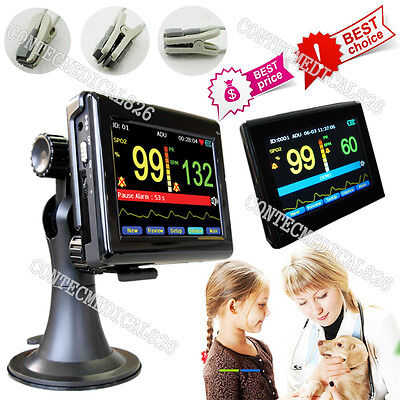 VET Veterinary Pulse Oximeter Touch Patient Monitor Blood Oxygen Tongue/Ear SpO2 for sale  China