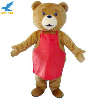 adorkable Teddy Bear Cosplay Adult Mascot Costume Fancy Dress Outfit Xmas Party  sc 1 st  eBay & adorkable Teddy Bear Cosplay Adult Mascot Costume Fancy Dress Outfit ...
