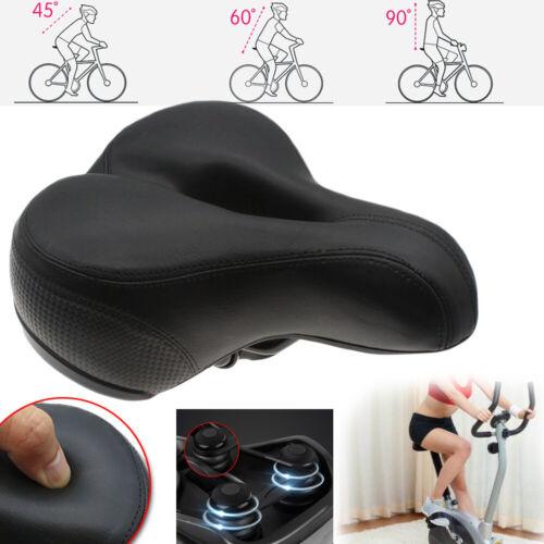 Comfort Bike Seat Pad Extra Wide Gel Cruiser Bicycle Saddle