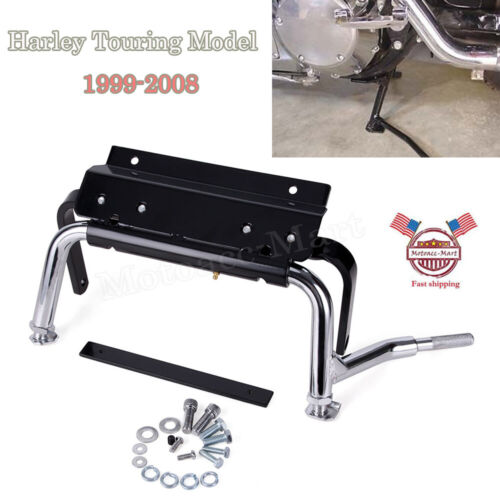 Adjustable Center Stand for Harley Davidson Touring Road King Glide FLHR FLTR Models 2009-2019