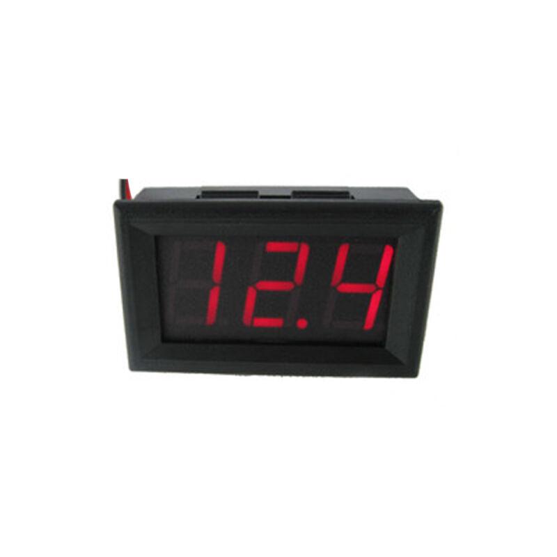 1X Hot Sale Car 0.56 inch Red LED digital Wire DC voltmeter Measuring Instrument