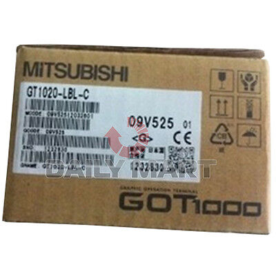 New Mitsubishi Hmi Touch Panel Interface Gt1020-lbd-c Gt1020lbdc