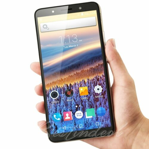 """Android Phone - Cheap Unlocked 6.0"""" Android 8.1 Smart Mobile Quad Core Dual SIM WiFi GPS Phone"""