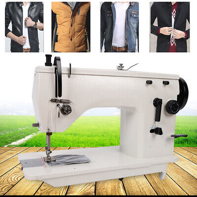 Industrial Sewing Machine Heavy Duty Embroidery Craft Straightcurved Seam Best
