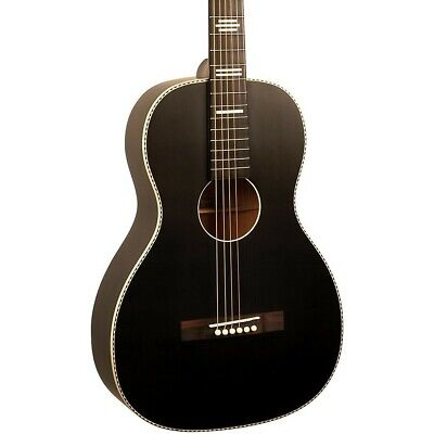 Recording King Dirty 30's Single 0 RPS-7 Acoustic Guitar Black 190839847867 OB