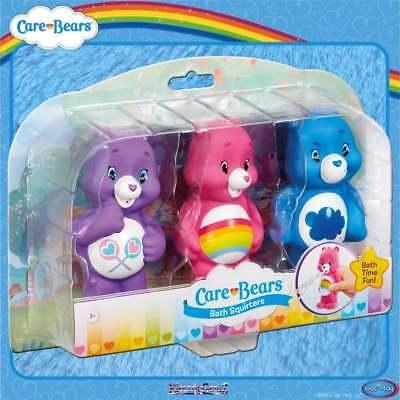 Care Bears Bath Squirters 3-pack Share Bear, Grumpy Bear & Cheer Bear Water Toys