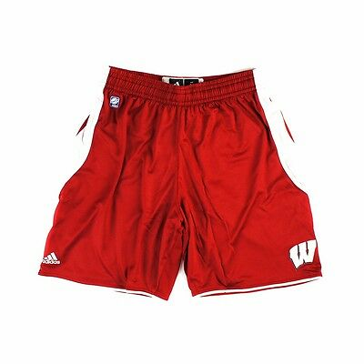 - Wisconsin Badgers ADIDAS Basketball Point Guard Shorts Men's