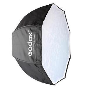 Godox 80cm Portable Octagon Softbox Umbrella Brolly Reflector for Speedlight
