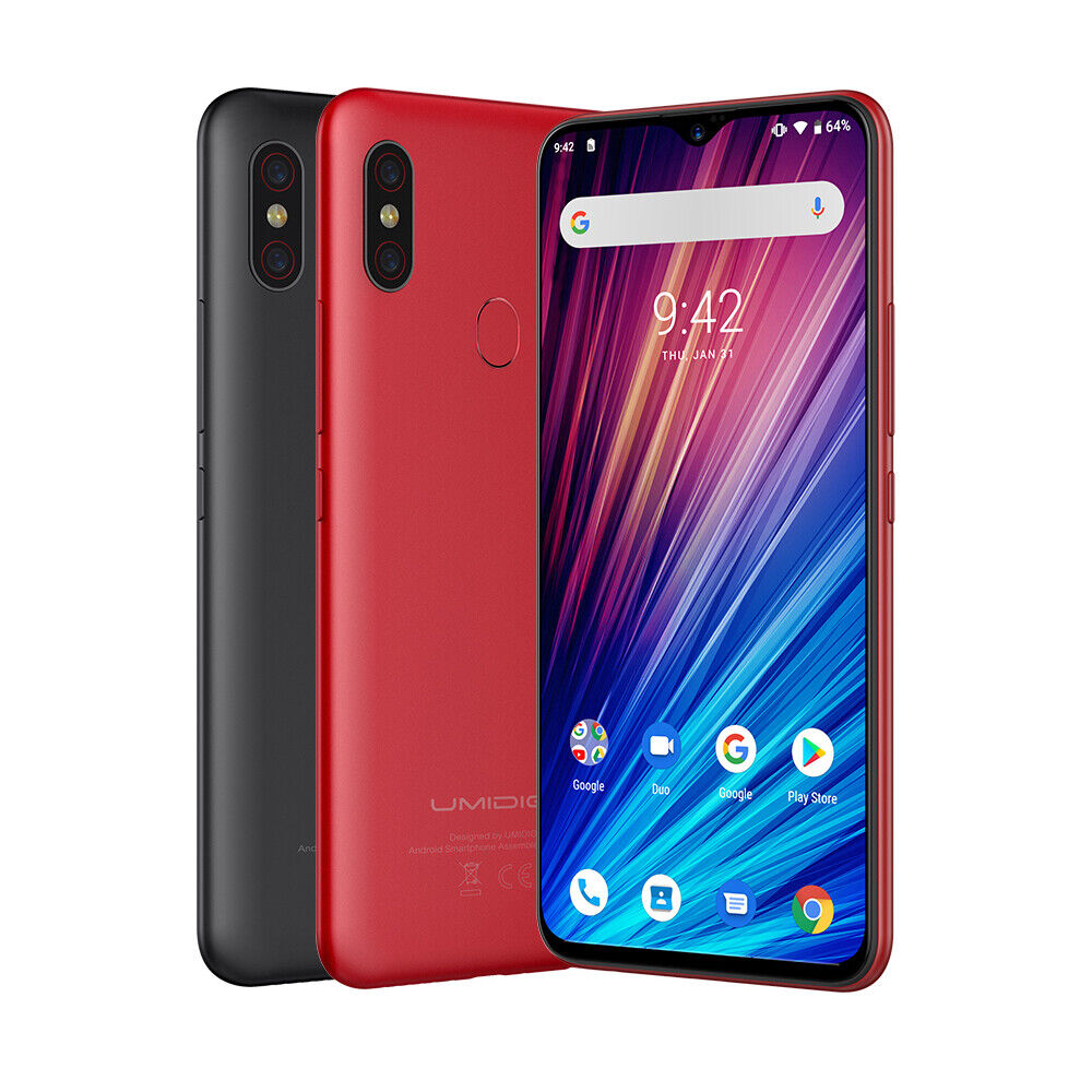 UMIDIGI F1 Play Smartphone 6.3 Zoll 6GB + 64GB ohne Vertrag Handy Dual SIM