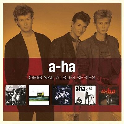 A-ha ORIGINAL ALBUM SERIES Box Set HUNTING HIGH AND LOW Scoundrel Days NEW 5 CD