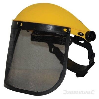 Mesh Face Shield Saftey Visor - Safety Silverline Workwear 140868 for sale  Shipping to Ireland