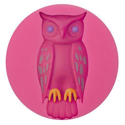 Halloween Owl Silicone Cake Fondant Sugar Chocolate Cookies Decorating Mold -
