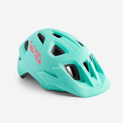 Bicicleta de Montaña Juvenil Ciclo de Casco MET Eldar Bebé Azul Mate...