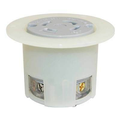 Nema L14-30r 3pole 4w 30a 125250v Heavyduty Twist Lock Receptacle Flange Outlet