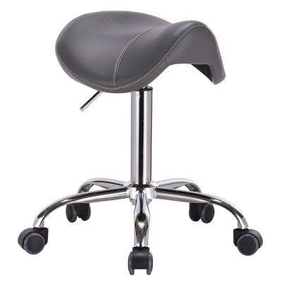 Modern Home Products Rolling Adjustable Swivel Stool - Sp...