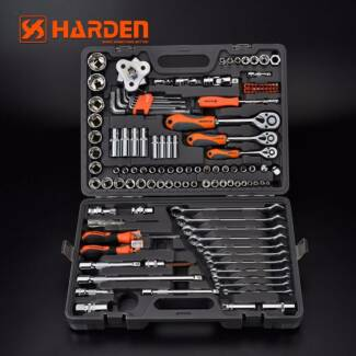 120pcs Socket Set 1/2' 1/4 3/8 Tool Kit