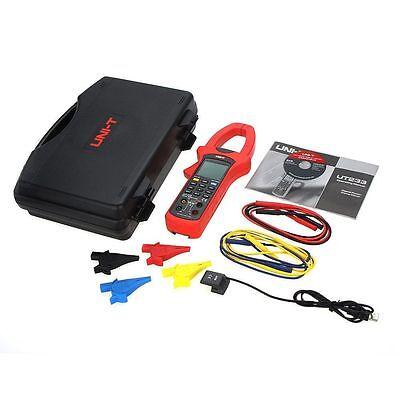 Uni-t Ut233 Digital Power Factor Clamp Meter Multimeter True Rms Ac Value Usb