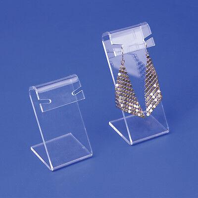 Acrylic Jewelry Earring Display Set Earring Holder Earring Organizer Lot Of 2 Pc