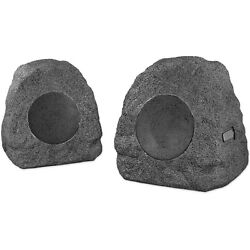 Innovative Technology 3-Watt Bluetooth Outdoor Rock Speakers | Pair