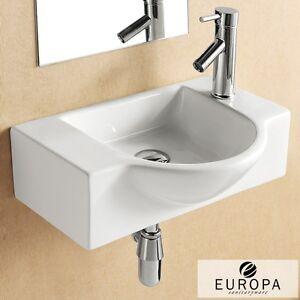 ... -350x540-1TH-Sink-White-Ceramic-Wall-Hung-Corner-Bathroom-Basin-4523A