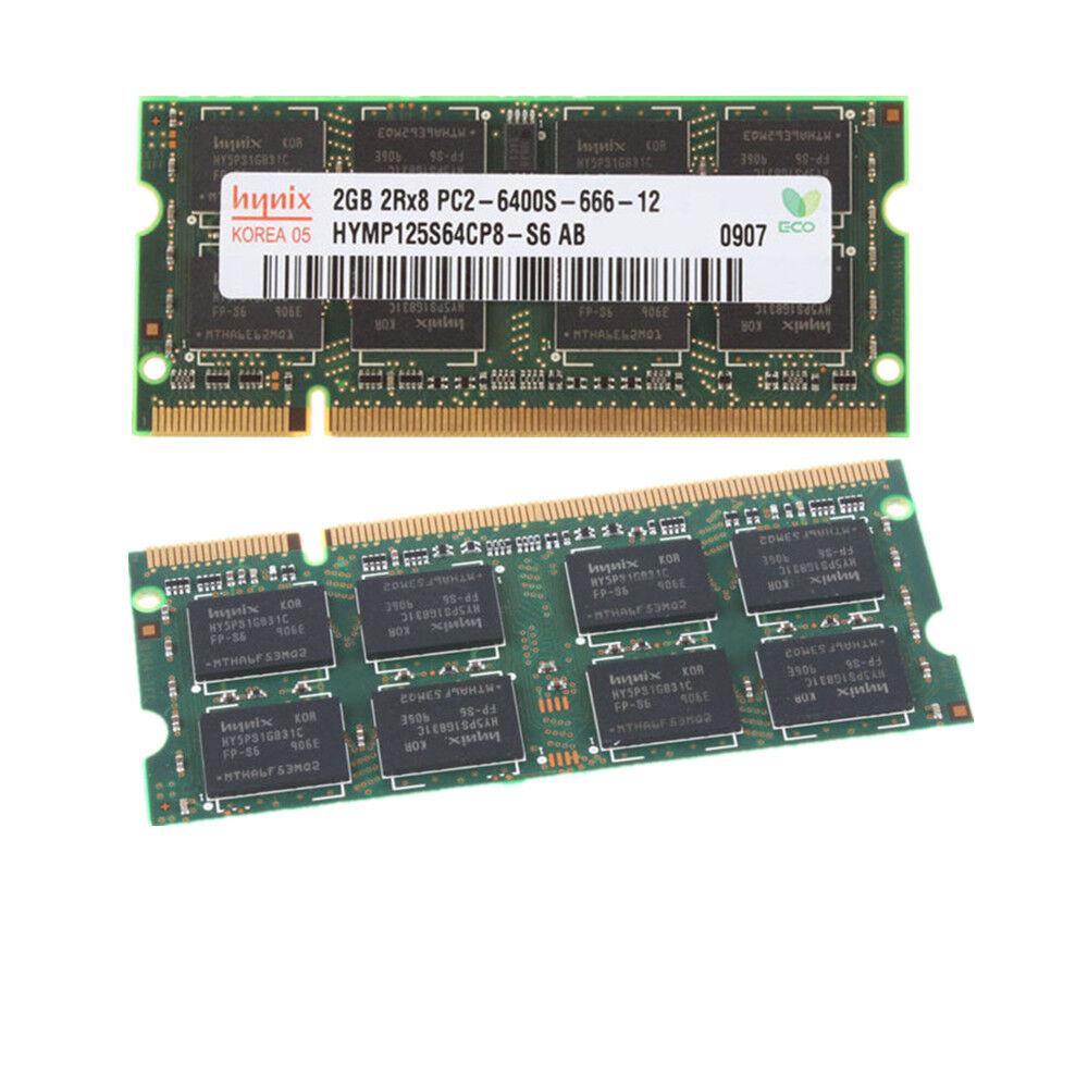 OEM Hynix 2GB 4GB 8GB PC2-6400s 666-12 Laptop Sodimm Memory