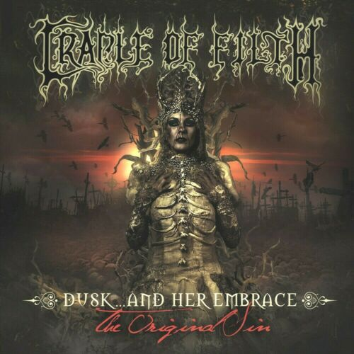Cradle Of Filth Dusk And Her Embrace 12x12 Album Cover Replica Poster Print