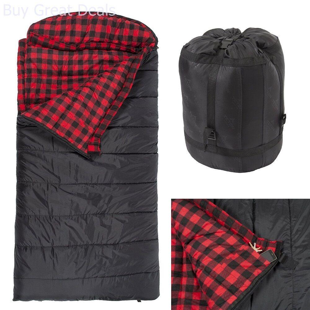 Celsius L Flannel Lined Sleeping Bag