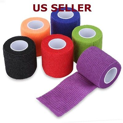 Waterproof Self Adhesive Bandage Tape Finger Joints Wrap Sports (Adhesive Sports Tape)