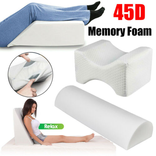 Comfort Contour 45D Memory Foam Pillow Leg Firm Back Knee Lu
