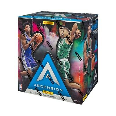 2017 18 Panini Ascension Basketball Hobby Box